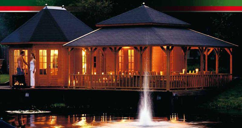 pergolas cabane cabanon pavillon jardin chalet bungalow. Black Bedroom Furniture Sets. Home Design Ideas