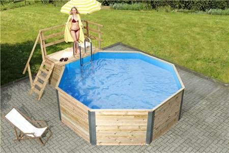 piscine en bois impregnees piscine hors sol piscine. Black Bedroom Furniture Sets. Home Design Ideas